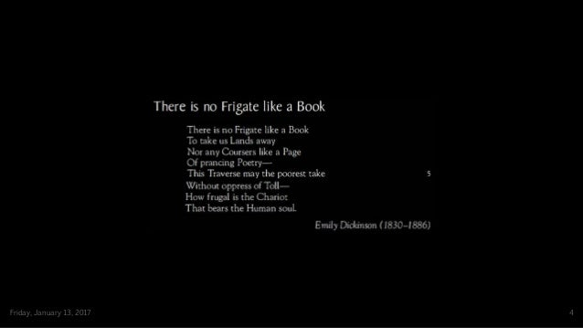 there is no frigate like a book meaning
