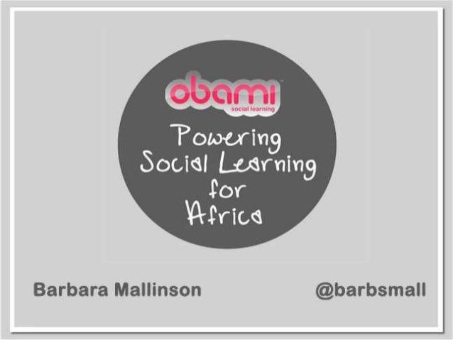 Afrinnovation - eLearning Africa