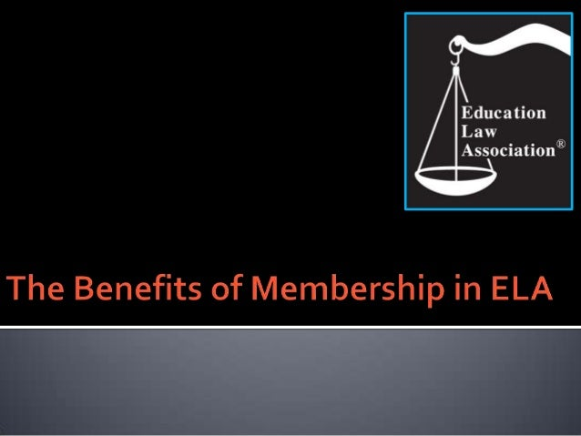    Non-advocacy    The Education Law Association is a national, nonprofit member association offering    unbiased inform...