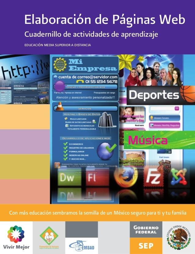 Elaboraci n de paginas web for Paginas web sobre turismo