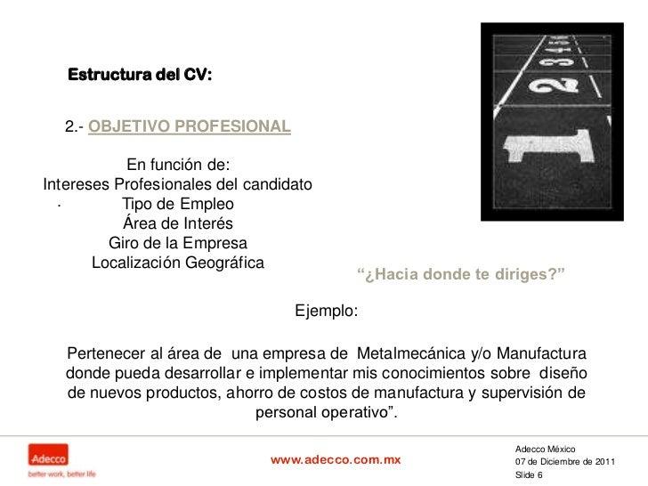 Elaboracion Cv Profesionistas Con Sin Exp 2