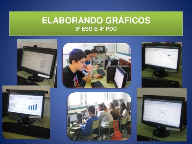 ELABORANDO GRÁFICOS3º ESO E 4º PDC