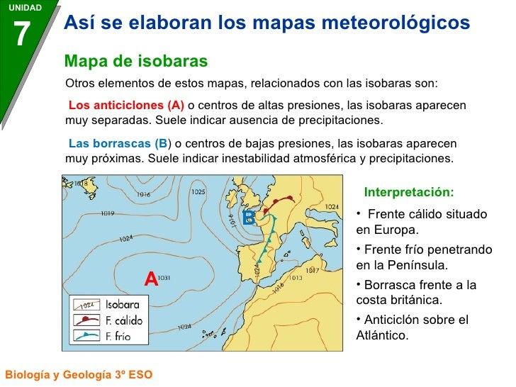 Mapa De Isobaras Europa.Elaboracion Del Mapas Del Tiempo