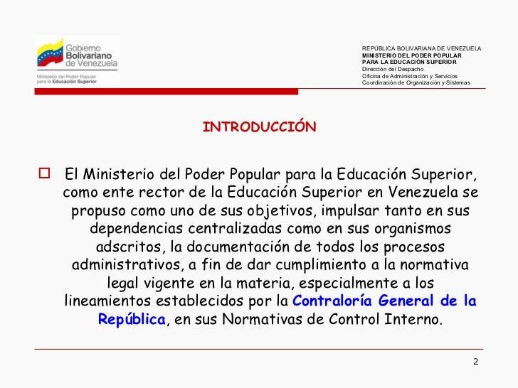 Elaboración de manuales de normas y procedimientos Slide 2