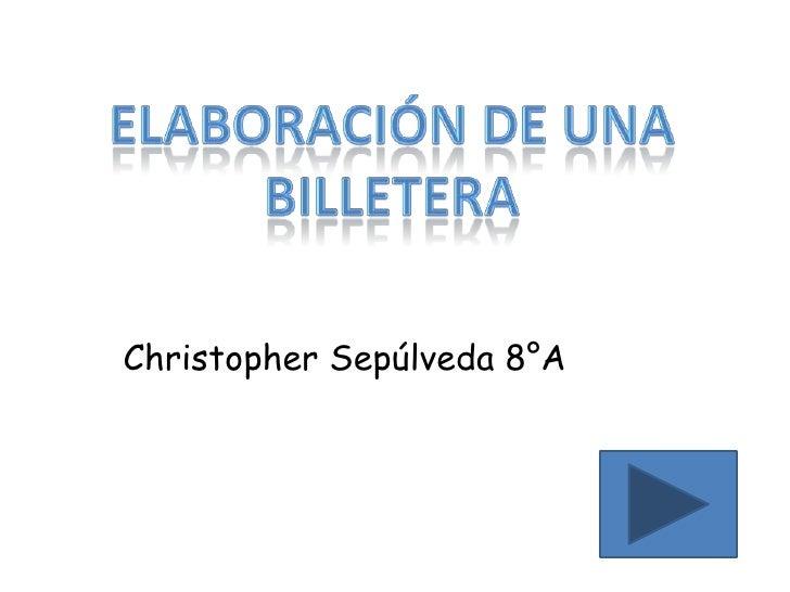 Christopher Sepúlveda 8°A