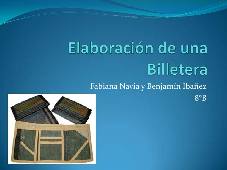 Fabiana Navia y Benjamín Ibañez                            8°B