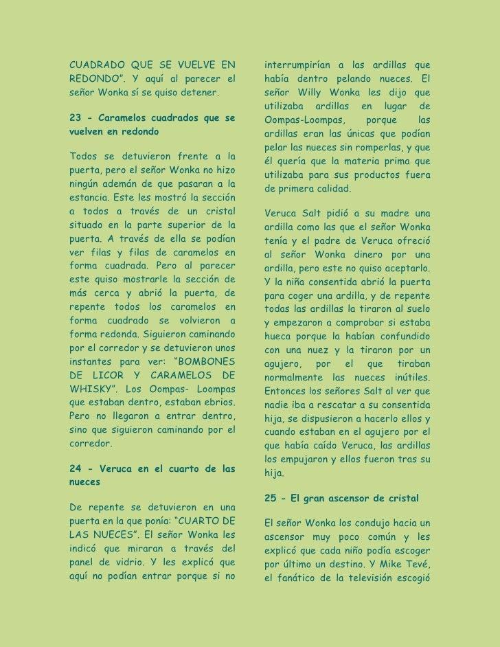 Elaboracion de historia charlie y la fabrica de chaocolate for Puerta willy wonka