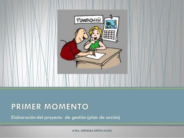 Elaboracion del proyecto de gestion escolar Slide 2