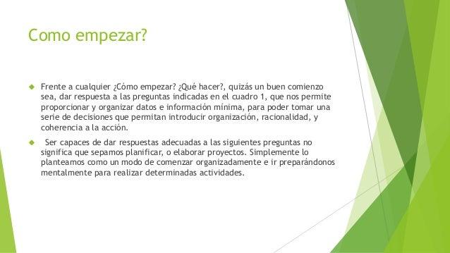 Elaboracion de perfil de proyecto de grado - Como crear un proyecto ...