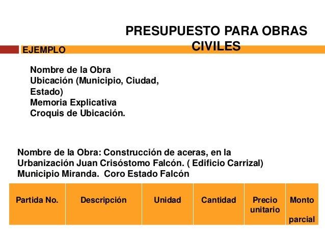 Elaboracion de presupuesto en obras civiles - Presupuestos de obras ...
