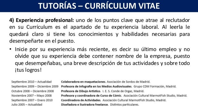 elaboracion-de-un-curriculum-vitae-7-638 Que Debe Contener Un Curriculum Vitae on