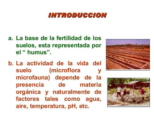 Elaboración, uso y manejo de los abonos orgánicos Slide 2