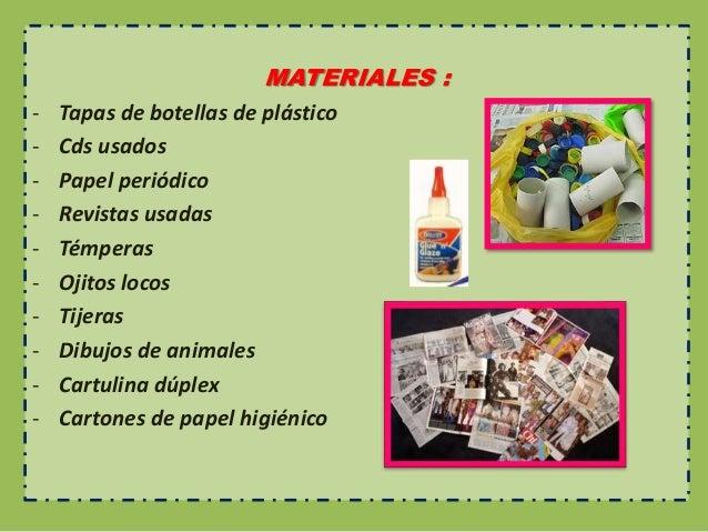elaboramos un mural de material reciclado 1 a