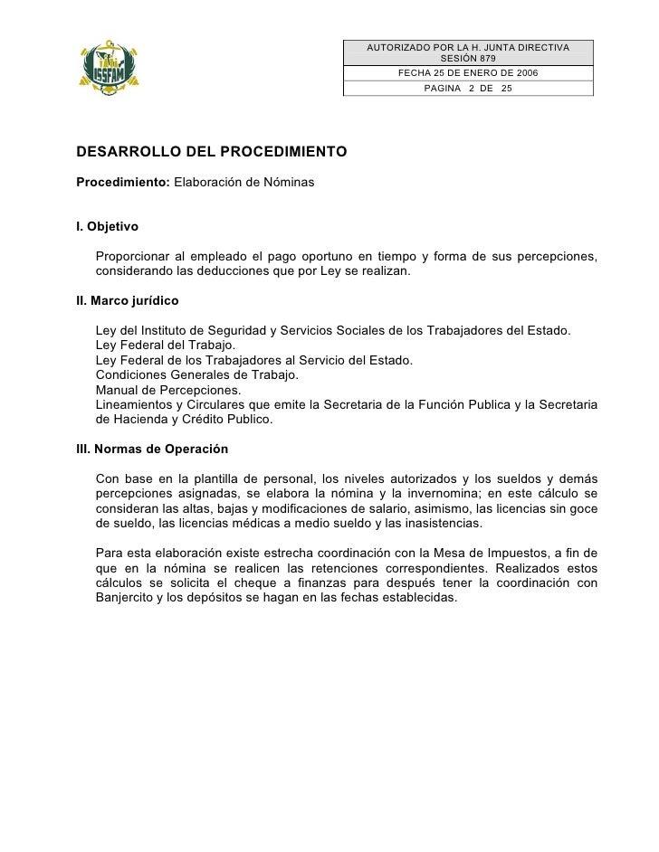 AUTORIZADO POR LA H. JUNTA DIRECTIVA                                                                SESIÓN 879            ...
