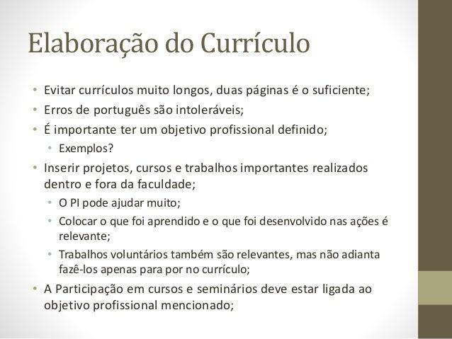 o que escrever no objetivo no curriculum vitae