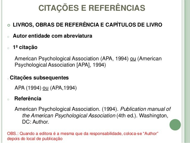 guidelines of the publication manual of the american psychological association 4th ed