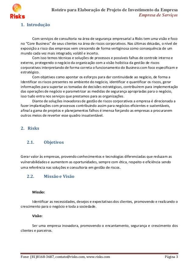 eb3f0acb9 Elaboração projeto investimento