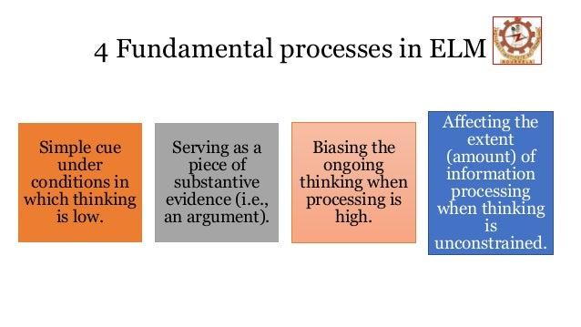 Elaboration likelihood model elm 13 4 fundamental processes in elm ccuart Gallery