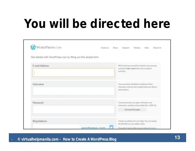 Ela carrillo how to create a wordpress blog for How to build a blog