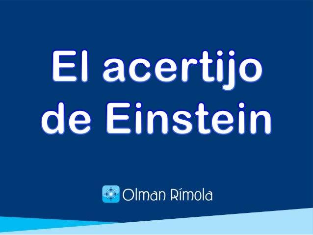 Desde hace muchos años, se piensa que este acertijo fue ideado por Albert Einstein, quien además afirmaba que el 98% de la...