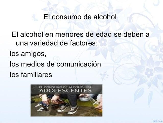 Físico las dependencias del alcohol