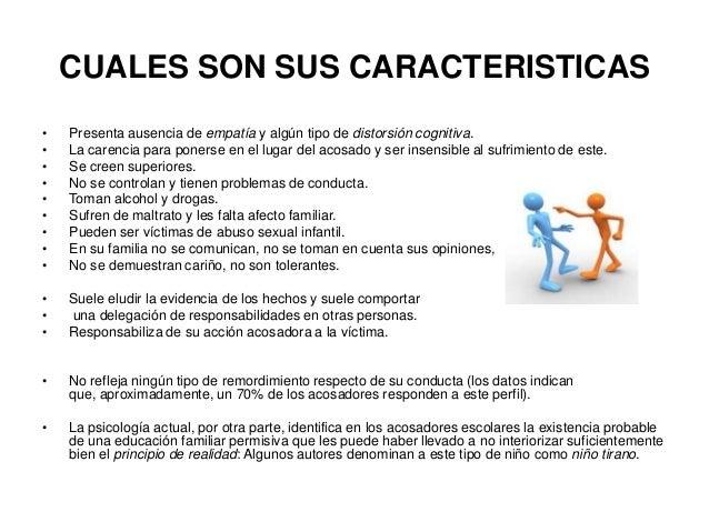 El acoso escolar o bullying diapositivas diplomado for Cuales son las caracteristicas de un mural