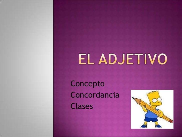 ConceptoConcordanciaClases