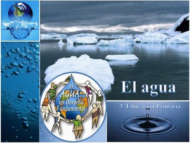 El agua y los seres vivosEl agua y sus estadosEl agua en la naturalezaEl ciclo del aguaAgua para todos
