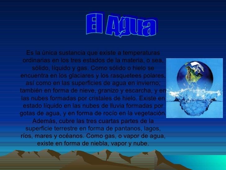 EL AGUA ELEMENTO VITAL PARA LA VIDA AYER Y HOY Slide 3