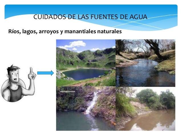 El agua y cuidado de las fuentes for Fuentes de agua