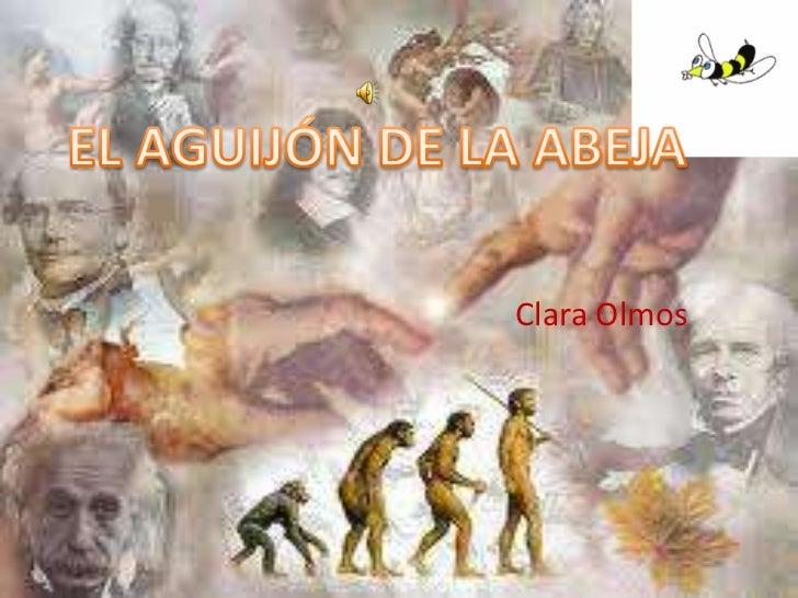 EL AGUIJÓN DE LA ABEJA<br />Clara Olmos<br />