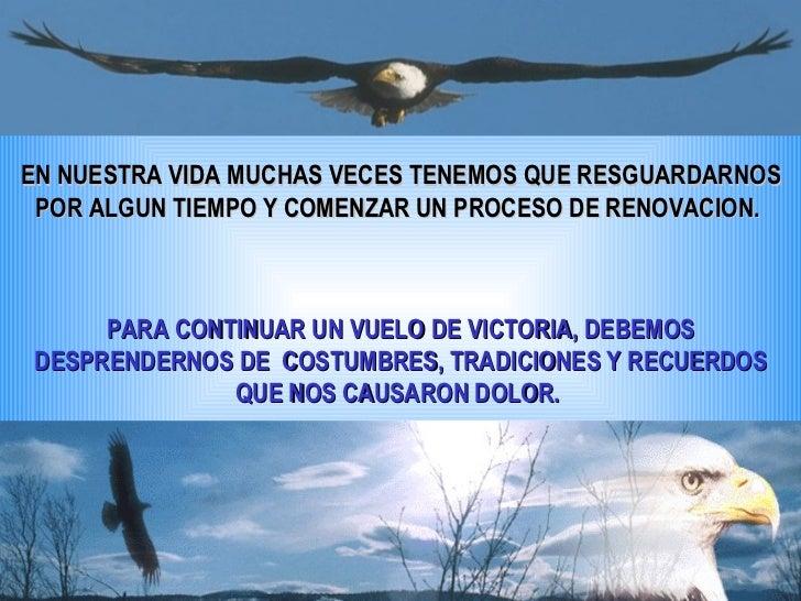 EN NUESTRA VIDA MUCHAS VECES TENEMOS QUE RESGUARDARNOS POR ALGUN TIEMPO Y COMENZAR UN PROCESO DE RENOVACION.  PARA CONTINU...