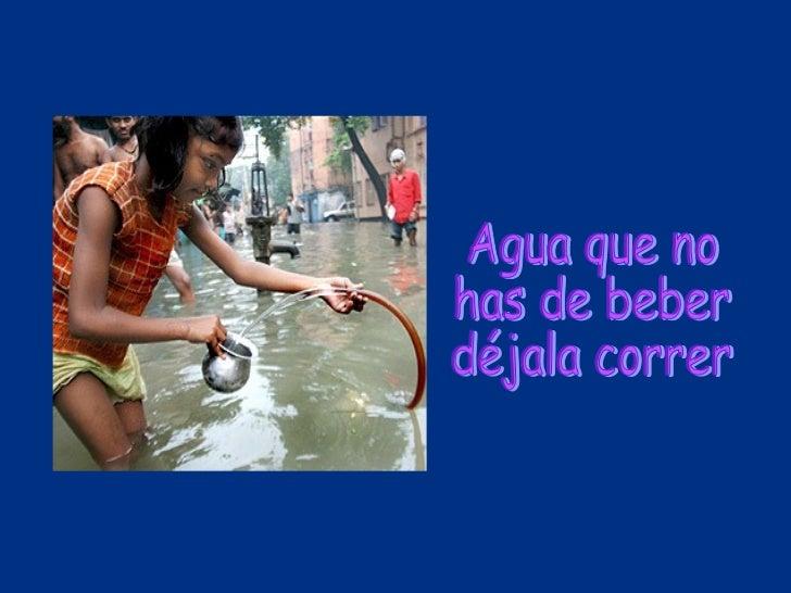 El ahorro del agua for Ahorro de agua
