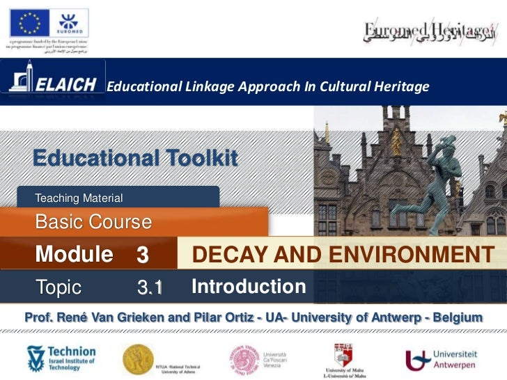 Educational Linkage Approach In Cultural Heritage Educational Toolkit Teaching Material Basic Course Module              3...
