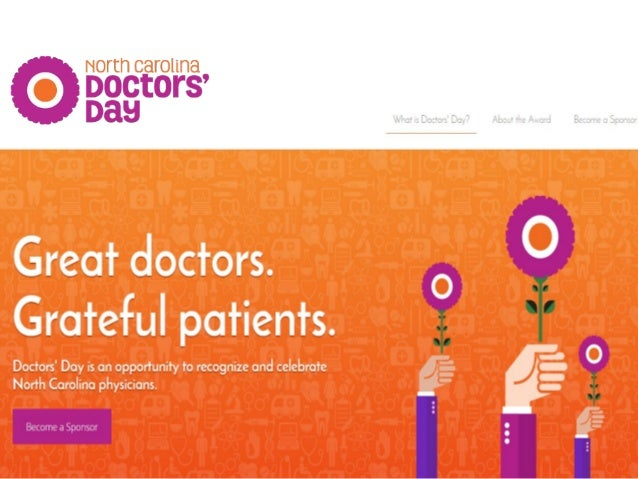 Case Study - PR Campaign: NC Doctors Day, NC Medical Society