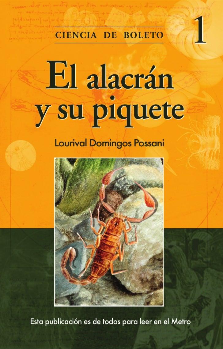 El alacrán y su piquete