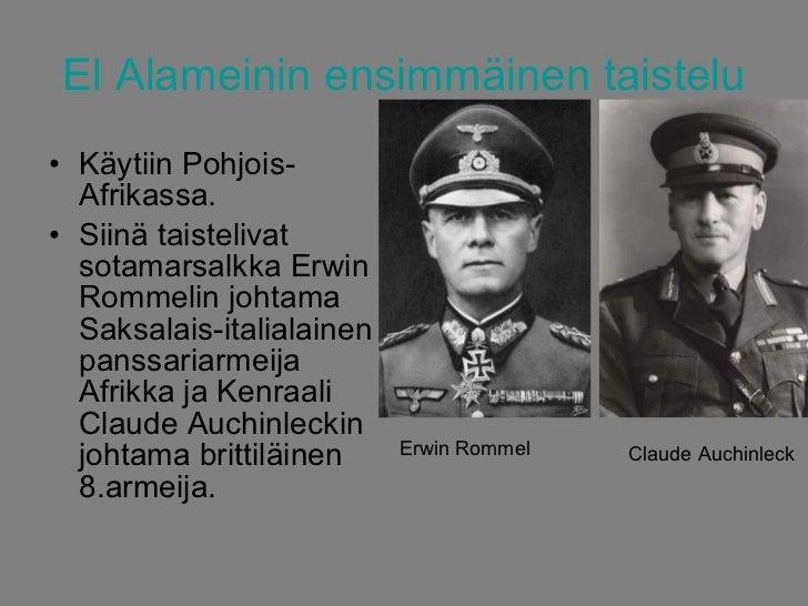 El Alameinin Taistelu
