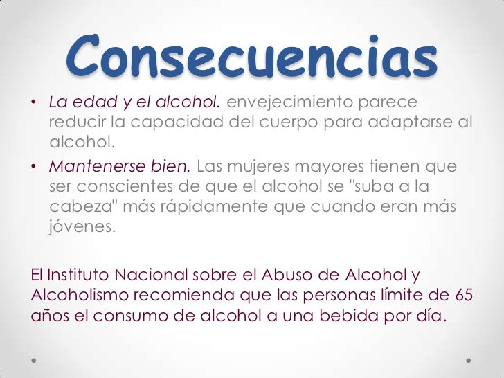 Efectos del alcohol en las mujeres