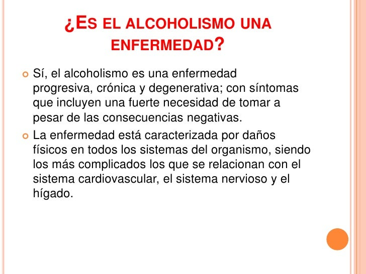 El epilobio a la dependencia alcohólica
