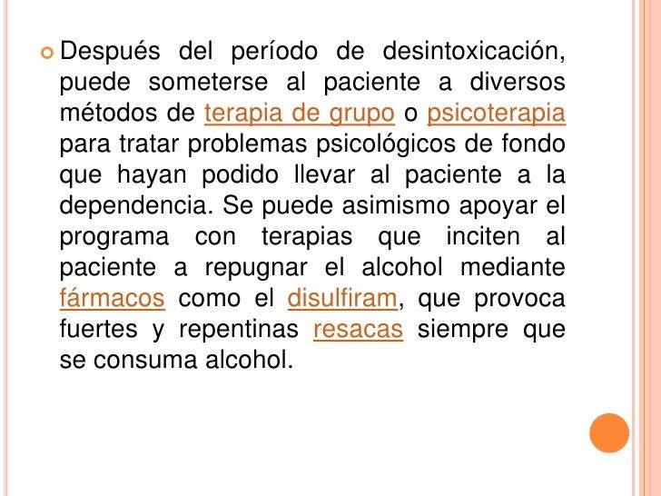 Las direcciones el tratamiento del alcoholismo por medio de la hipnosis