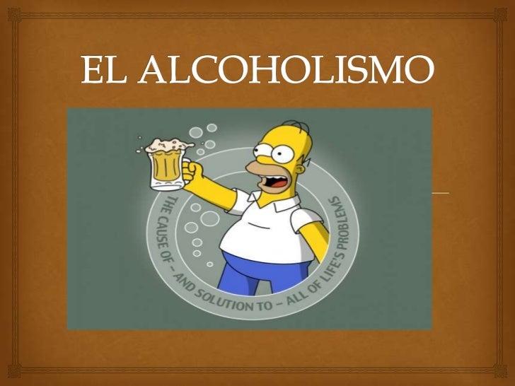 El alcohol la dependencia a la muchacha