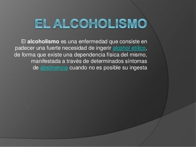 El  alcoholismo Slide 2