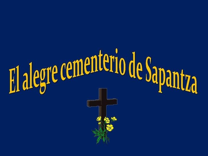 O Alegre Cemitério de Sapantza