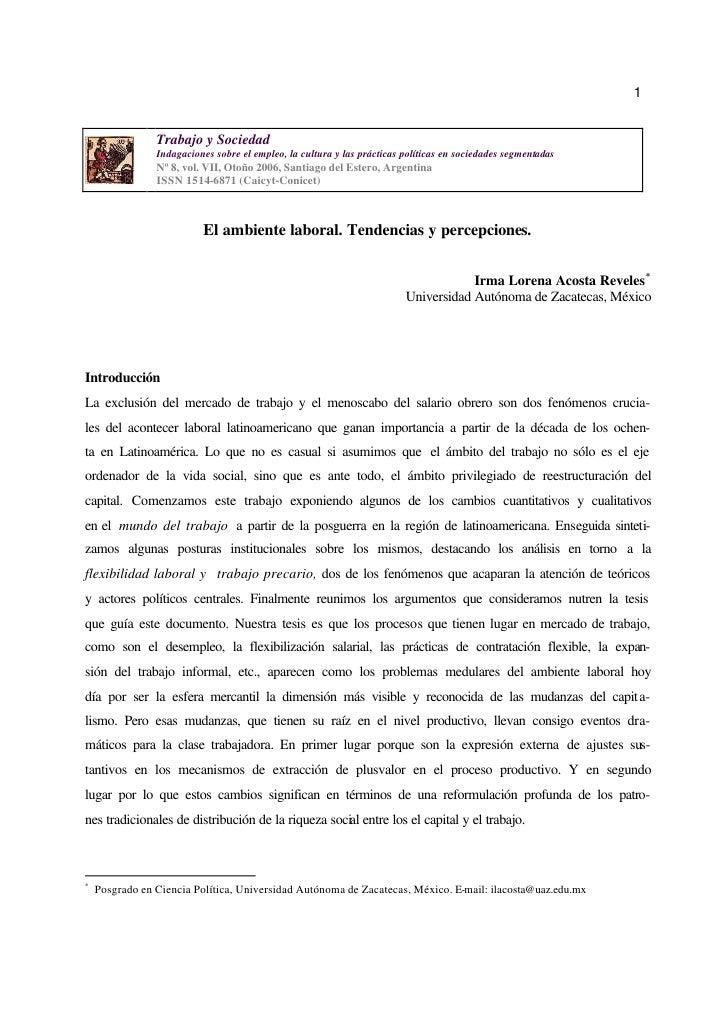 1                Trabajo y Sociedad                Indagaciones sobre el empleo, la cultura y las prácticas políticas en s...