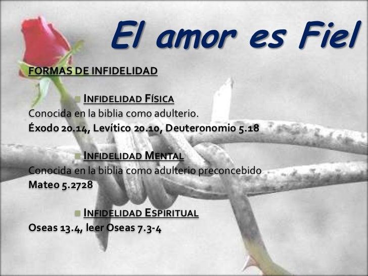 Matrimonio En La Biblia Significado : El amor es fiel