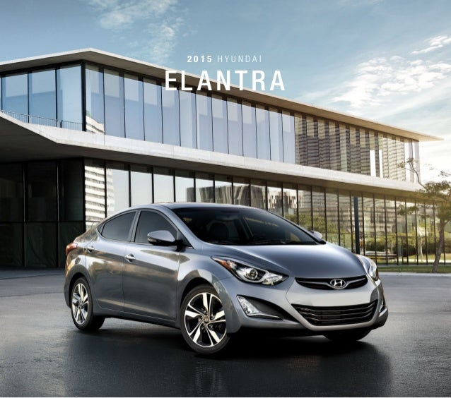 Hyundai Elantra Hatchback 2014: 2015 Hyundai Elantra In NJ