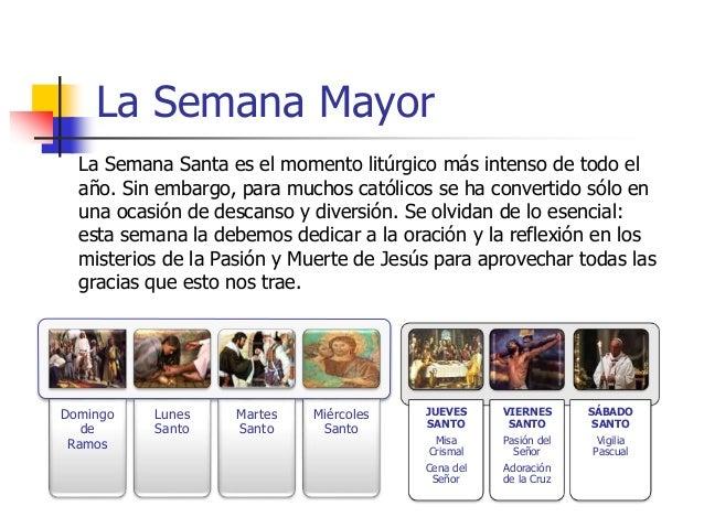 ... 12. La Semana Santa ...