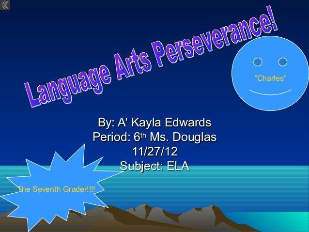 """Charles""                      By: A Kayla Edwards                     Period: 6th Ms. Douglas                            ..."
