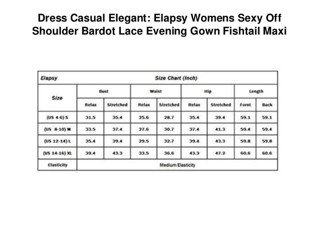 60ee15f8b9129 Dress Casual Elegant  Elapsy Womens Sexy Off Shoulder Bardot Lace Evening  Gown Fishtail Maxi ...