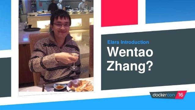 Elara Introduction Wentao Zhang?